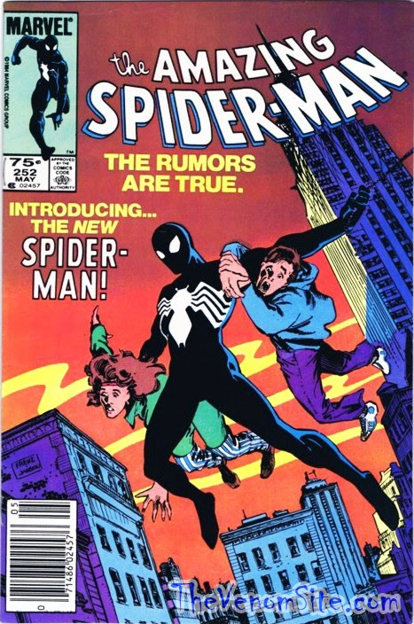 Read the first appearance of Spider-Man's black suit on the Marvel Digital Comics Unlimited app