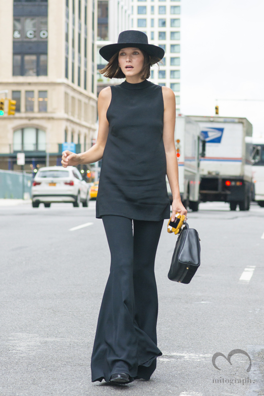 Style Blogger Ania Boniecka at New York Fashion Week 2016 Spring Summer NYFW