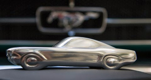U.K. Sculptor Creates Mustang 50 Year Limited Edition Pieces