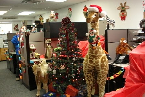 Christmas Decorating Ideas for The Office