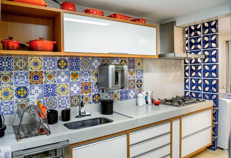 decoração de cozinha, Cozinha pequena, cozinha planejada, cozinha