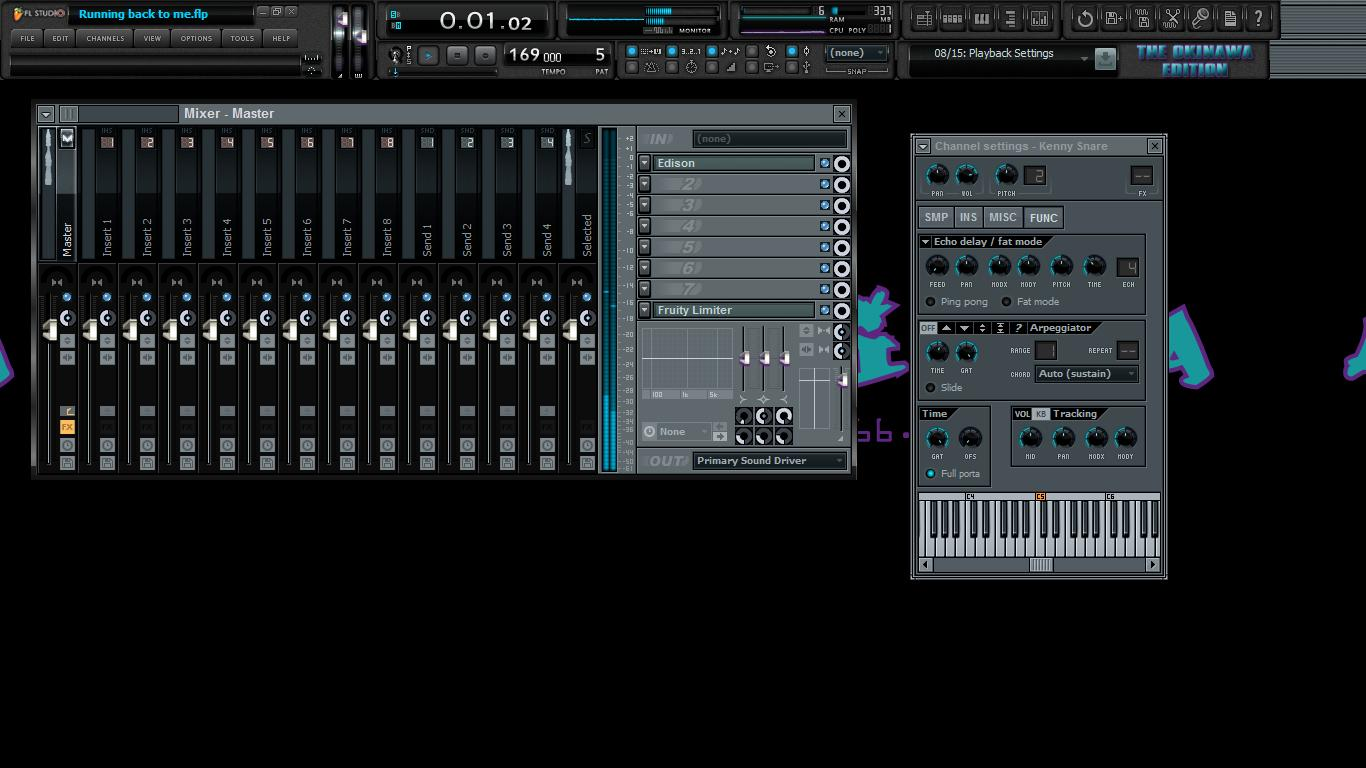 Custom Fl Studio Skins The Ashley Okinawa Producer