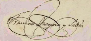 Firma de Francisco de S. Maspons y Labrós
