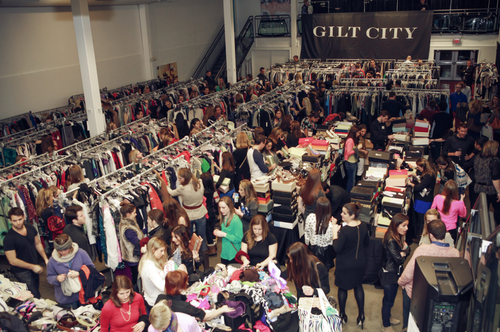 the gilt city warehouse sale at the sutter room on saturday more details here