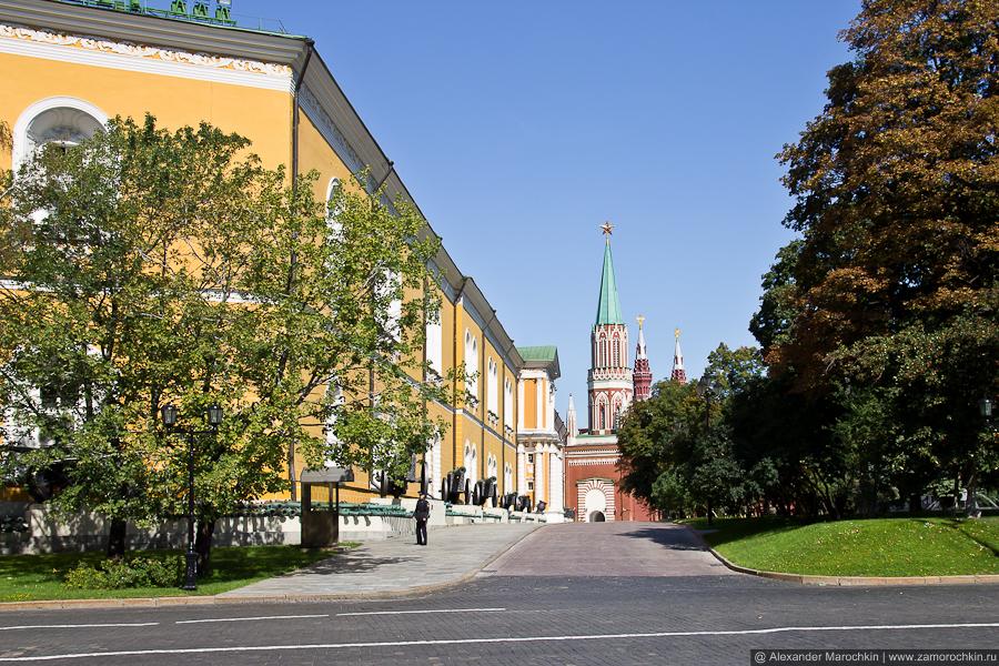 Арсенал и Никольская башня | The Arsenal and The St. Nicholas (Nikolskaya) Tower
