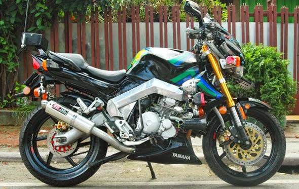 modifikasi motor yahama scorpio z 2012