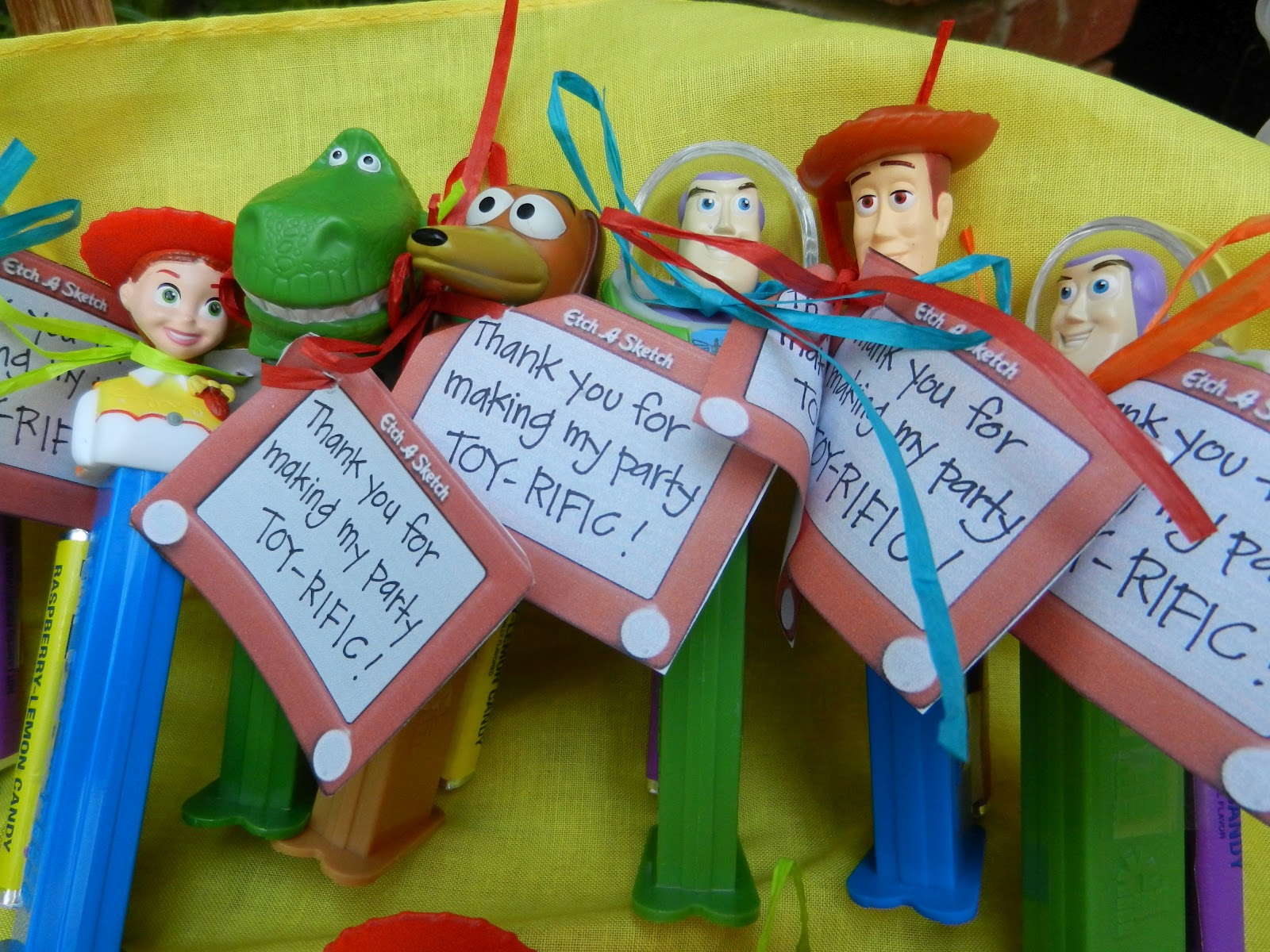 Party Favor Toys : Toy story party on pinterest