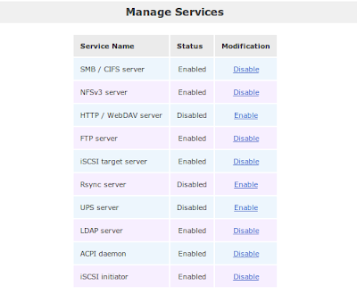 Enable LDAP service