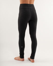 lululemon will pant black back view