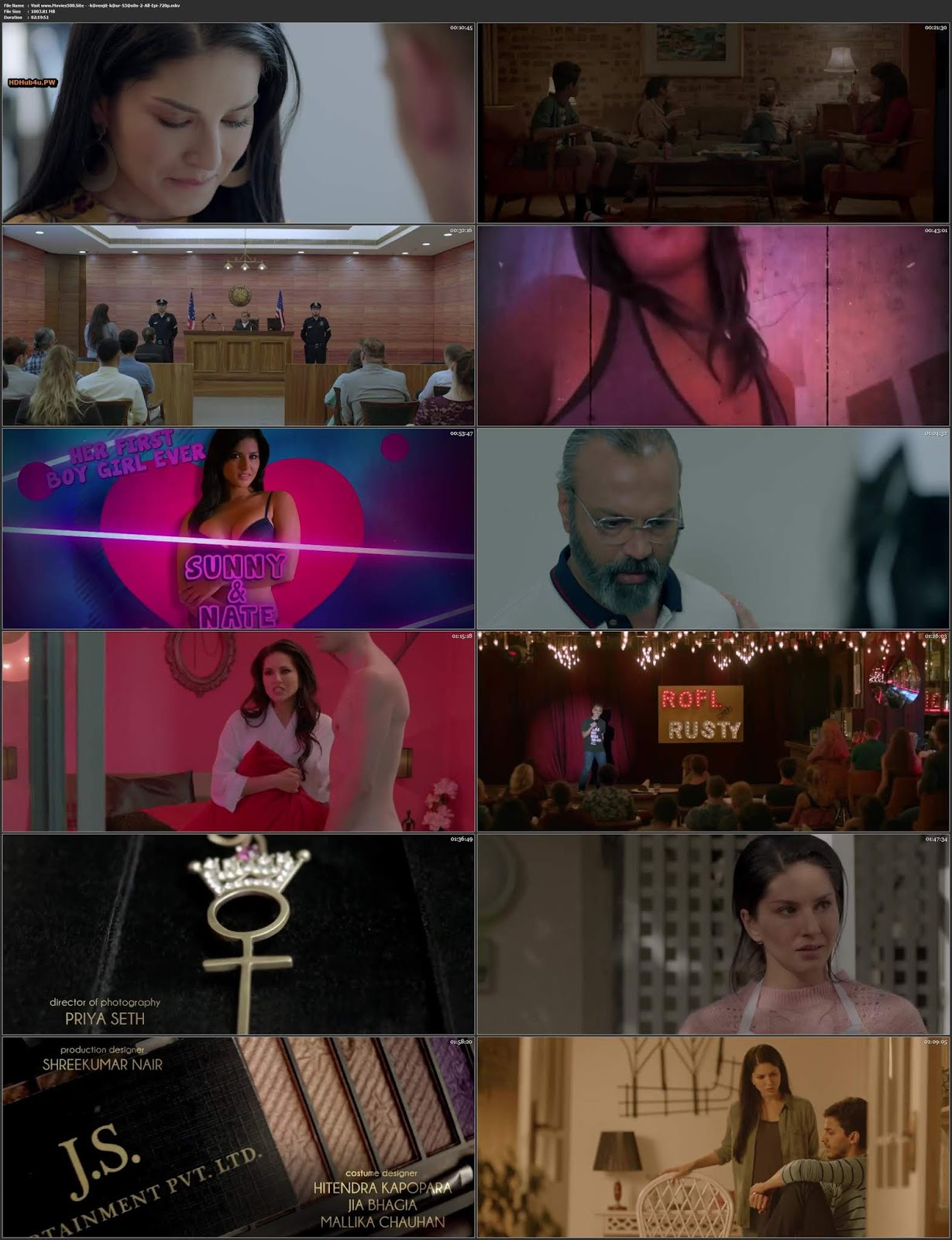 Karenjit Kaur The Untold Story Of Sunny Leone Season 02 Complete HDRip 720p