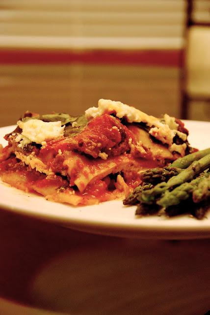 Italian Sausage And Beef Lasagna
