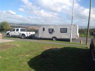 European caravan delivery service