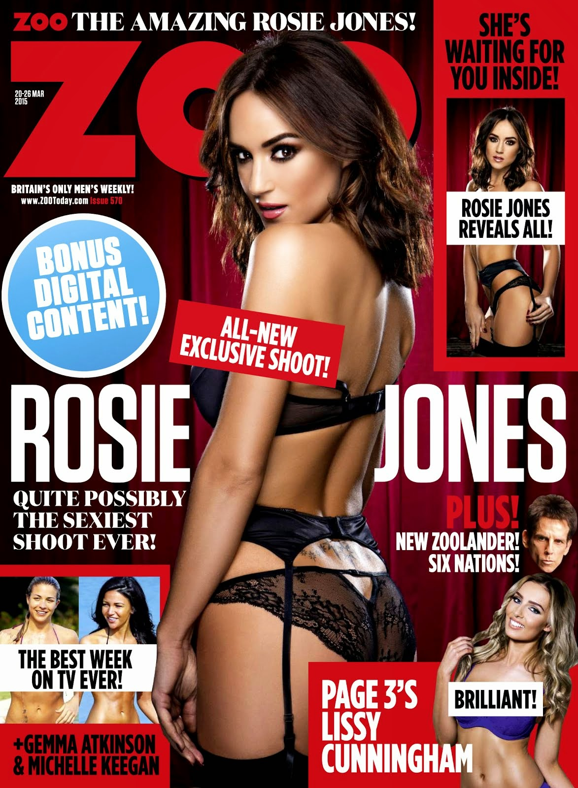 Rosie Jones en ZOO 2015