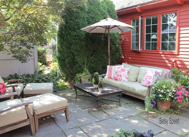 Betsy speert 39 s blog cottage garden terrace for Terrace parent lounge