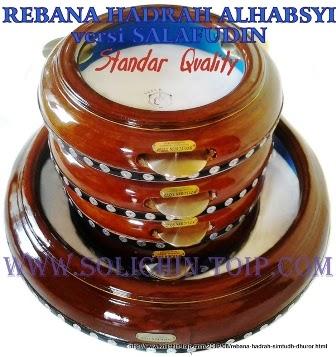 1 set Rebana Hadrah Salafudin-Pekalongan kualitas Standar