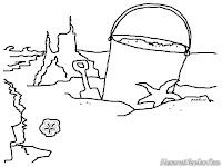 Belajar Membuat Rumah-Rumahan Dari Pasir