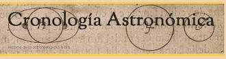 Cronología Astronómica