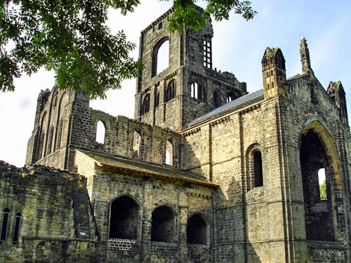 Kirkstall Abbey, Leeds, UK.