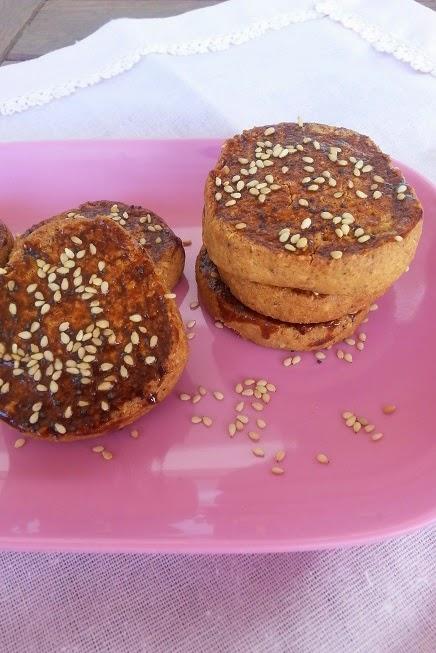 Pastas de sésamo y miel