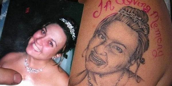 Worst portrait tattoo. El peor tatuaje de un retrato. http://distopiamod.blogspot.com.es