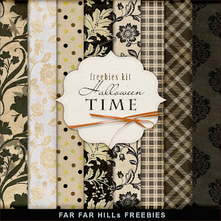Freebies Paper Kit - Halloween Time