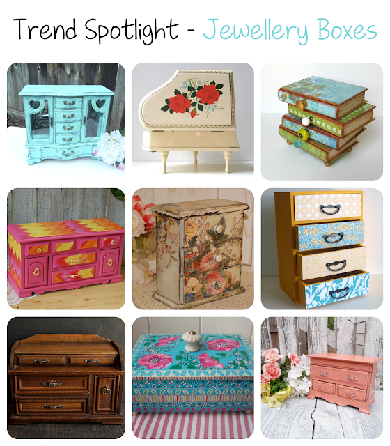 Jewellery Boxes is the Trend Spotlight for this week featuring the best jewellery boxes on Etsy!