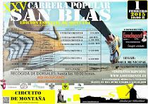 XXV Carrera Popular de San Blas de Los Yébenes
