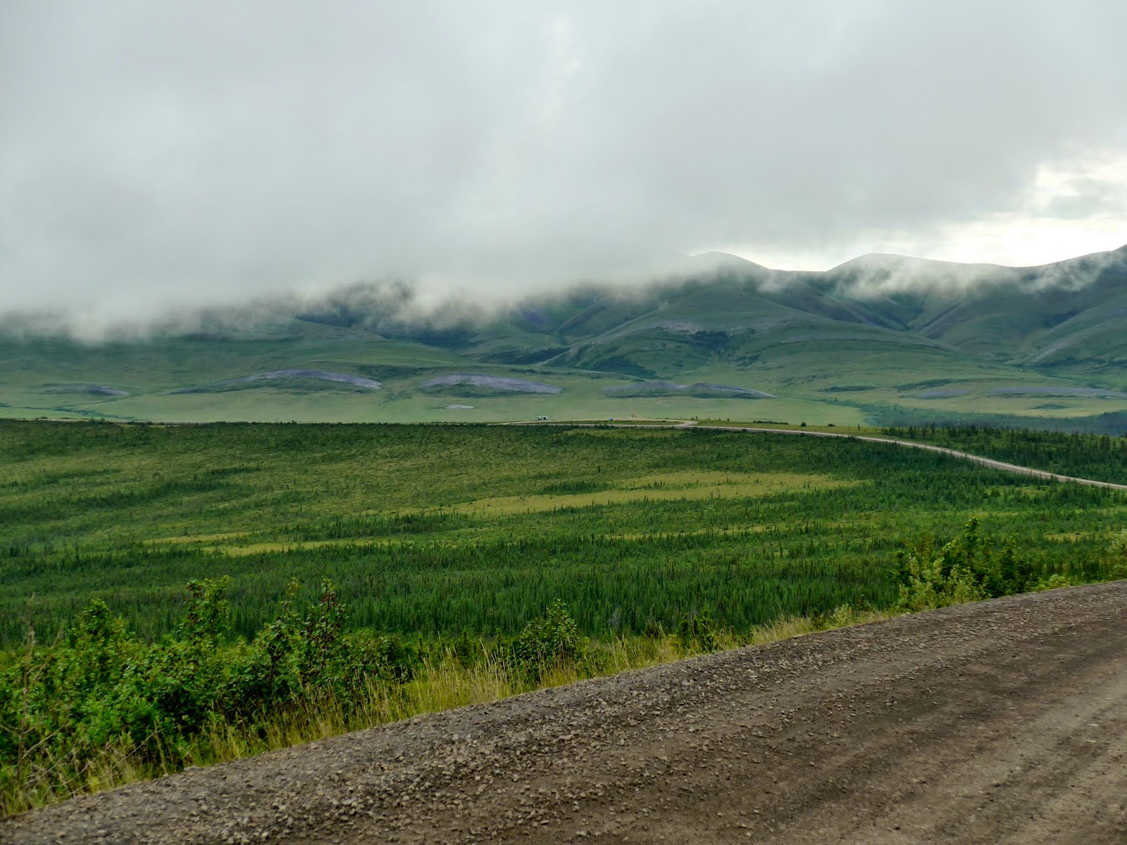 Beautiful landscape close to Northwest Territories.