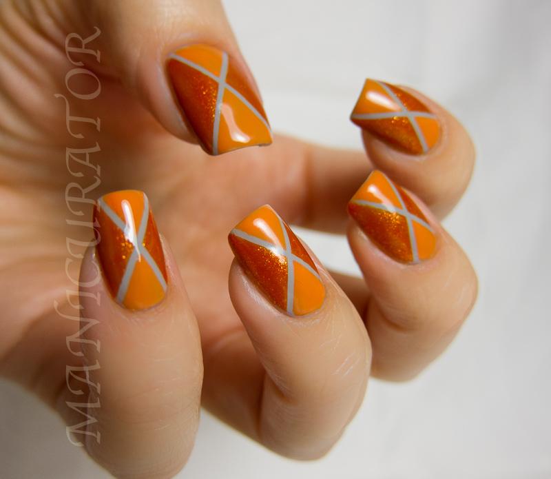 Argyle Nail Design