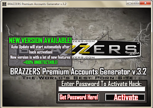 BRAZZERS.COM PREMIUM ACCOUNT GENERATOR V3.2