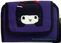 Tas Raflesia WHPO Purple Kokeshi