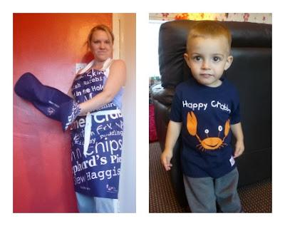 Yorkshire Blog, Mummy Blogging, Parent Blog, Gone Crabbing, Oven gloves, Apron, T-shirt, Soap, Review,
