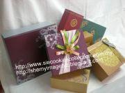 Koleksi Wooden Box Silver Motif