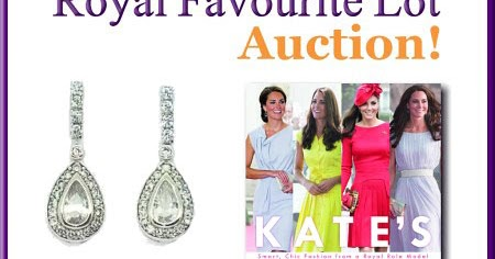Duchess Kate Royal Favourite Lot Baby Cambridge Fundraiser Memorabilia In Aid Of Each