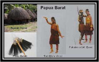 Gambar Tari Pakaian dan Senjata Tradisional