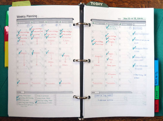 A Penchant for Paper: My DIY Planner Revisited