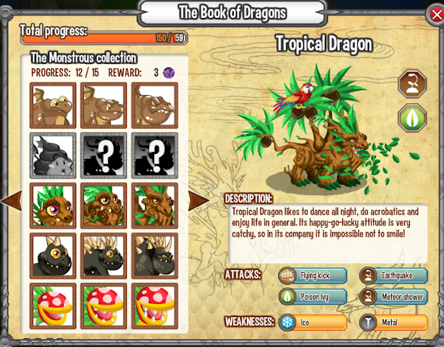 how to get a tropical dragon in dragon city