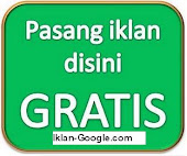 Pasang Iklan gratis di iklan-google.com
