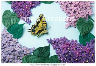 Lilac and swallowtail, detail