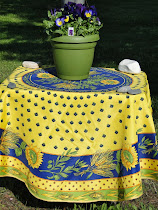 Spring Water- repellent Tablecloths