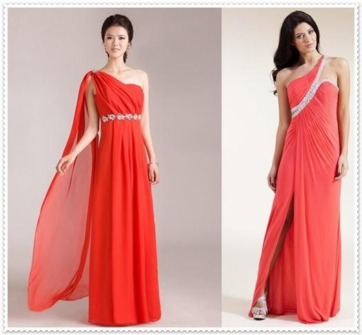 Die schönsten One-Shoulder-Abendkleider