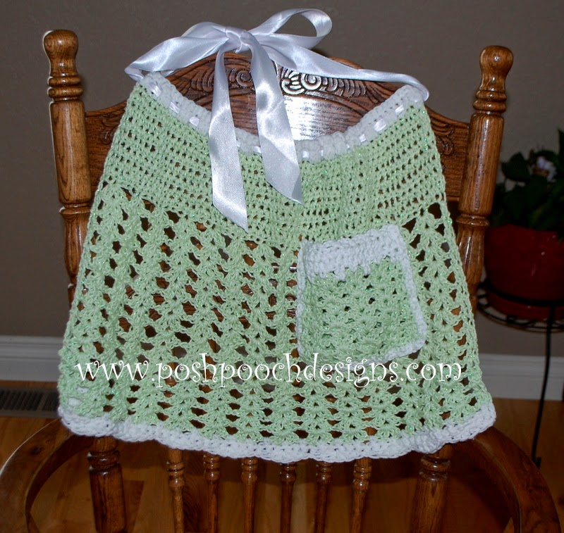 ... Designs Dog Clothes: Easy Meatloaf and A Free Crochet Apron Pattern