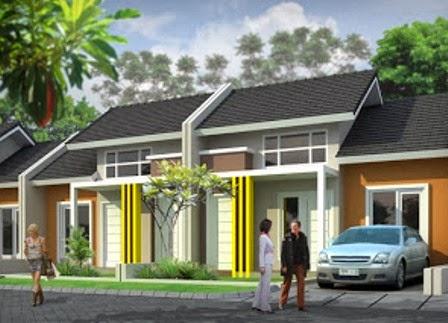 contoh desain rumah type 36