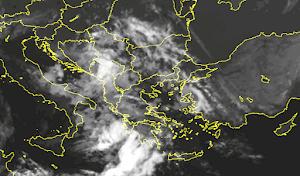 Δορυφορική εικόνα Ελλάδας