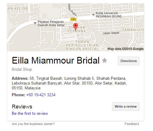 Eilla Miammour Bridal