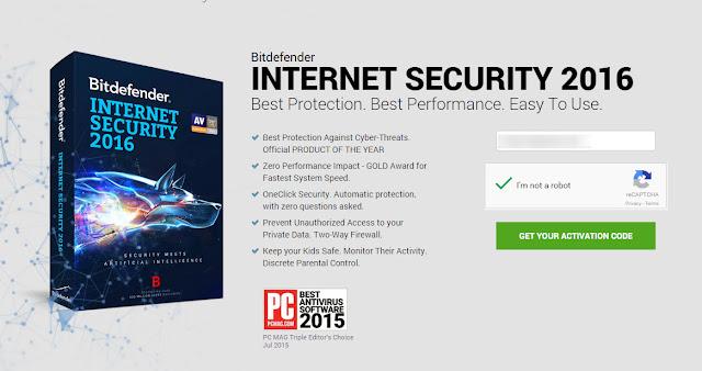 Free Bitdefender Internet Security 2016 மென்பொருள்