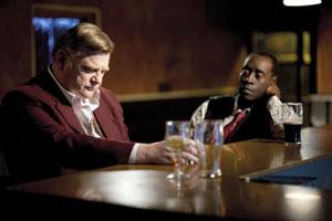 Brendan Gleeson y Don Cheadle en El irlandés