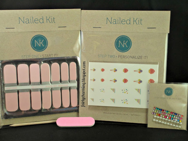 Nailed Kit, DIY nail art, subscription box, birthday, cupcake, all in one, nails, nail polish. nail art, nail design, mani