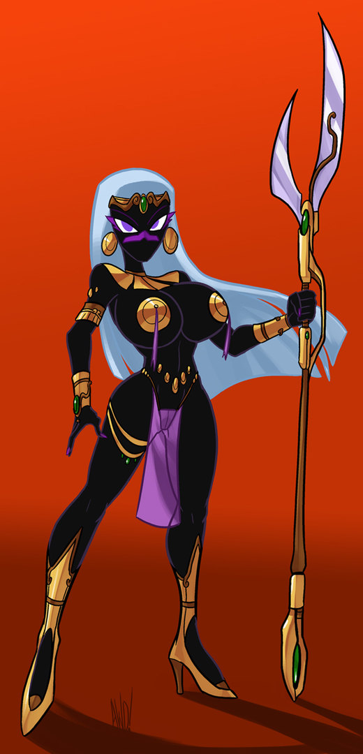 martian queen commission por Lordstevie