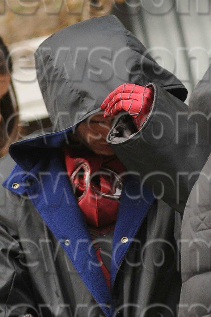 The Amazing Spider-Man 2 (Set Photos)